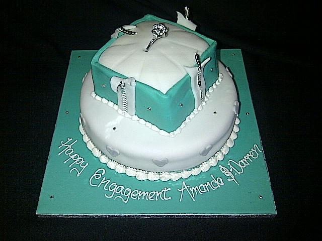 Decorating Ideas > Engagement Cakes  We Specialise In Wedding Cakes  ~ 001710_Cake Design Ideas For Engagement