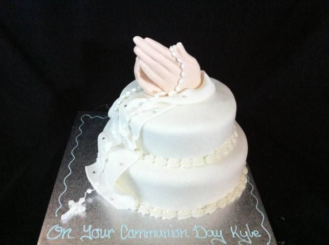 Christening Communion Cakes We Specialise In Wedding