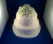 Alloa Wedding Cake-from £120