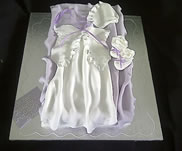 Christening Gown Cake-£60