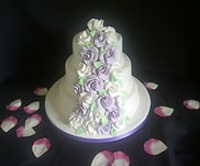 Airth wedding cake-from £120