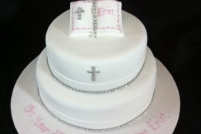 2 tier with small bible-£45