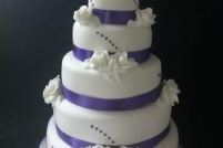 Gretna Wedding Cake-from £120