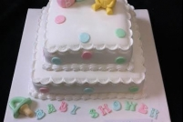 2 tier baby shower -£45