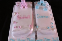 twins christening book-£50
