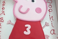 shaped peppa pig -£50