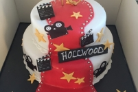 hollywood cake-£55